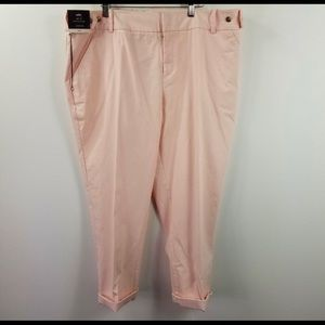 Ava & Viv pink ankle pants EUC